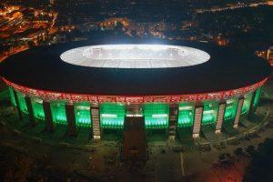 A nyitó meccsre készül a Puskás Aréna