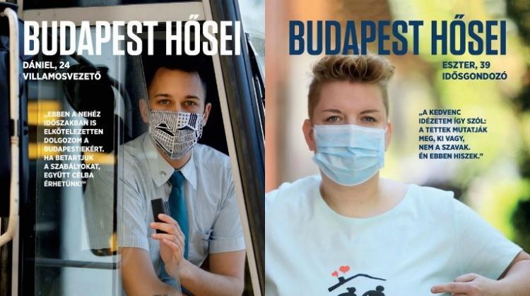 Köszönet a hősöknek Budapesten is