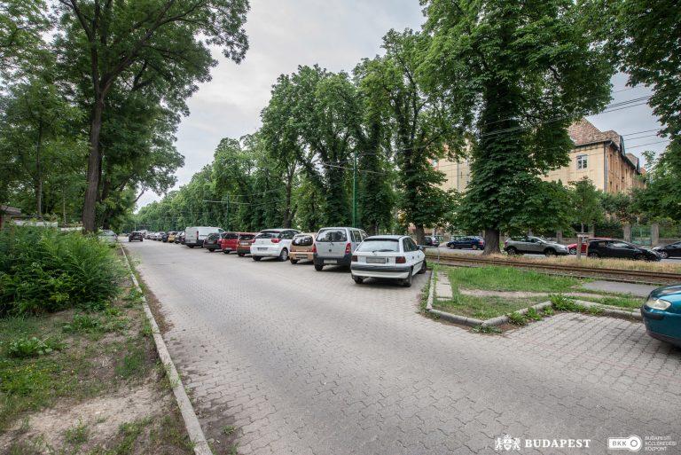 Parkolóbővítés a II. kerületben